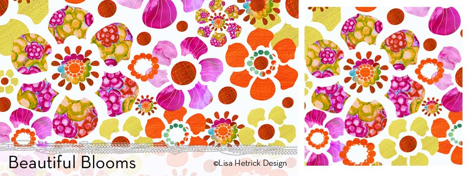 Beautiful Blooms Pattern