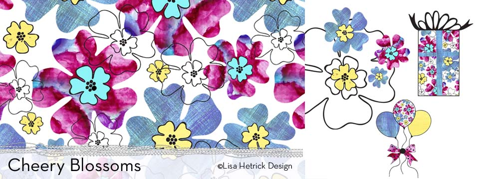 Cheery Blossoms Pattern