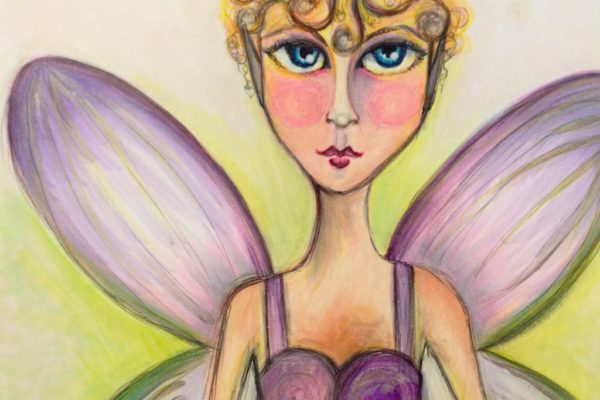 Copic Flower Fairy