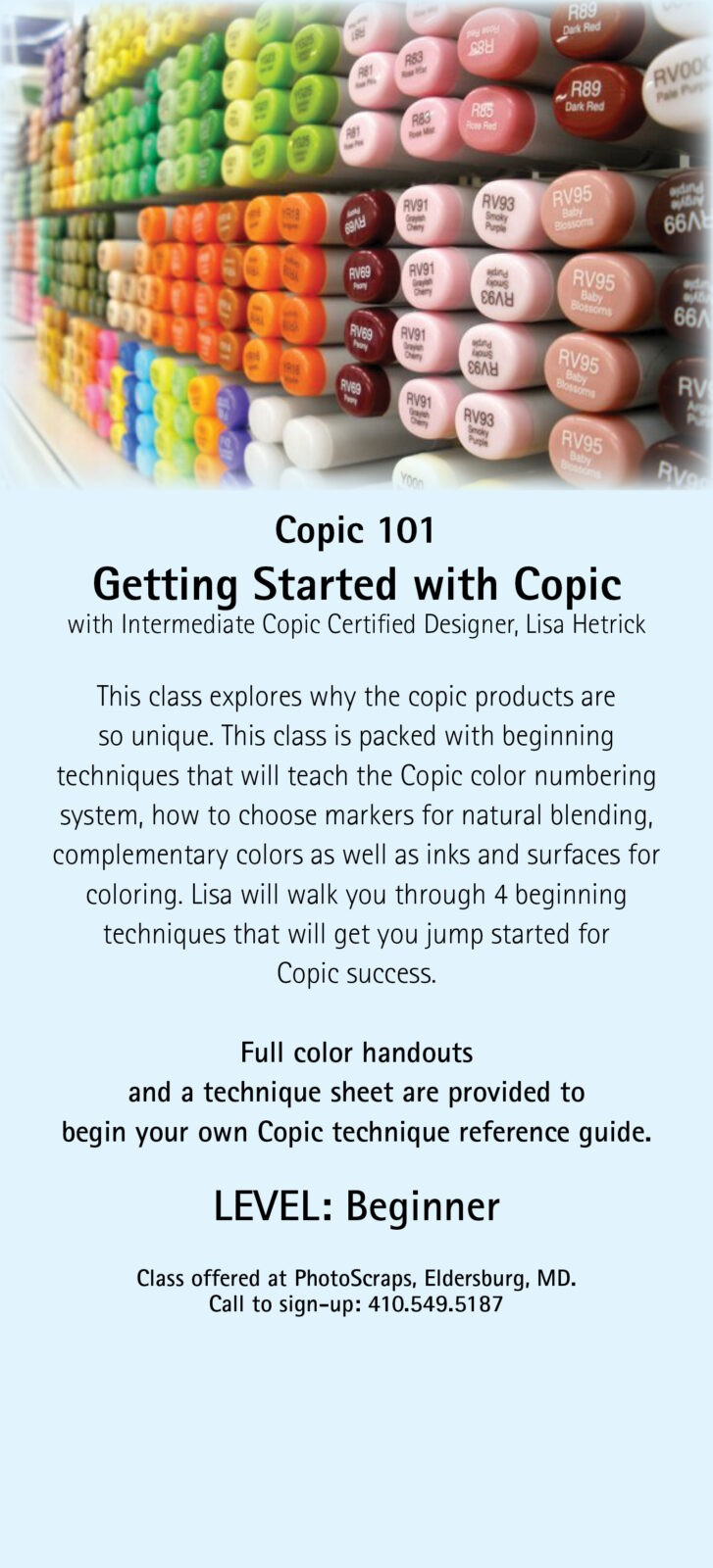 Copic 101 Getting Started With Markers