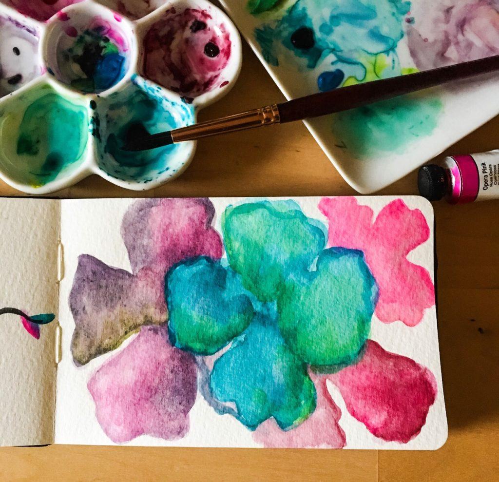 Flower Sketchbook
