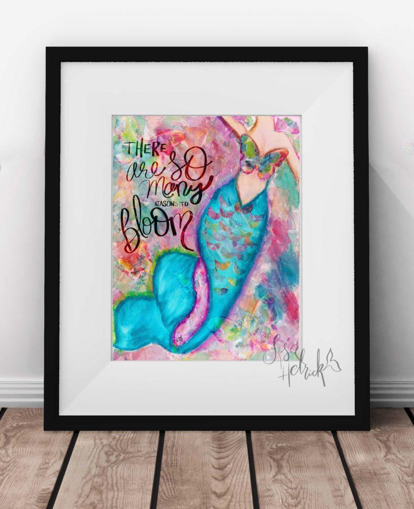 Mermaid Wall Art: Reasons to Bloom