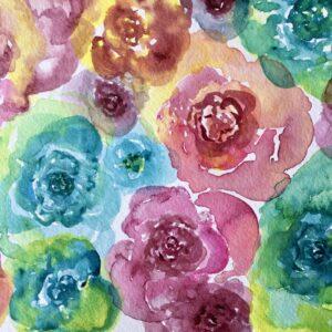 Flower Pattern Detail