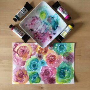 Flower Pattern Palette