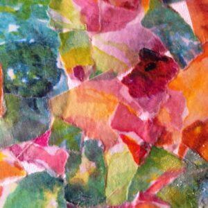 Color Patterned Paper