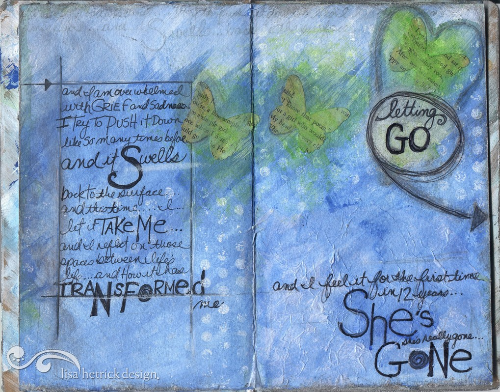 Sketchbook Project Second Spread
