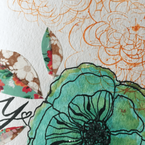 Joy Sketchbook Flower