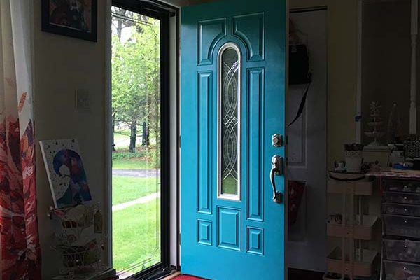 Thai Teal Door