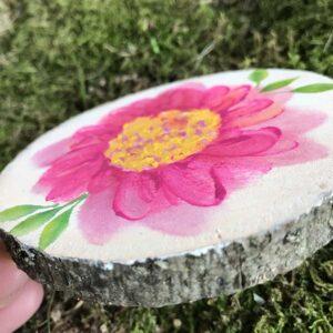 Pink Blooms Detail