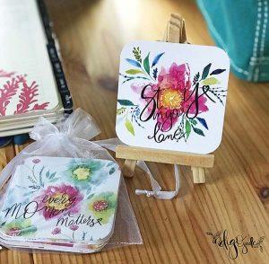 Inspiration Card Deck on Desk