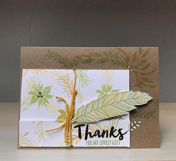 Gina K Designs Thank You Card