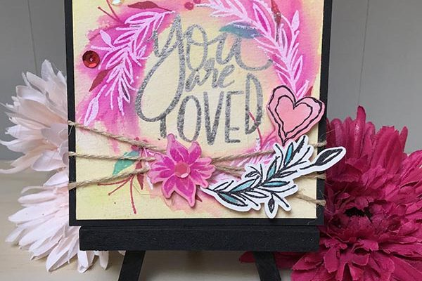 You are Loved Easel Card