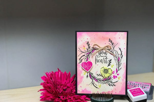 You Are My Heart Card Design