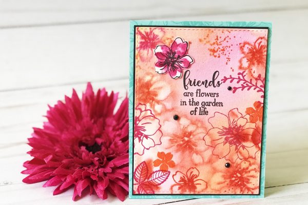 Friends are Flowers Card Tutorial
