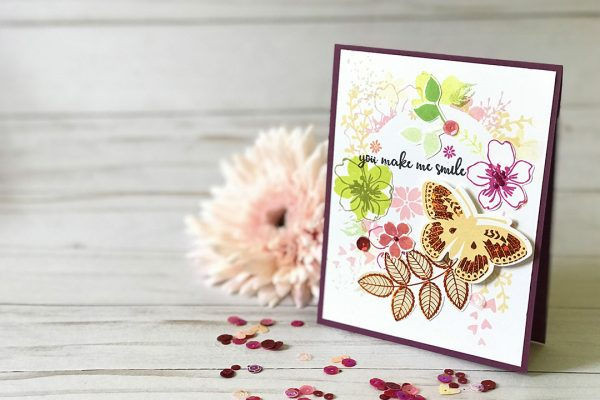 You Make Me Smile Card Tutorial