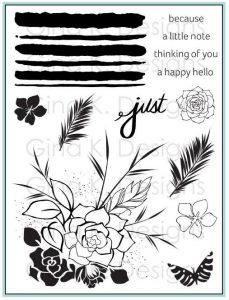 Just a little Stamp Set with Gina K Designs