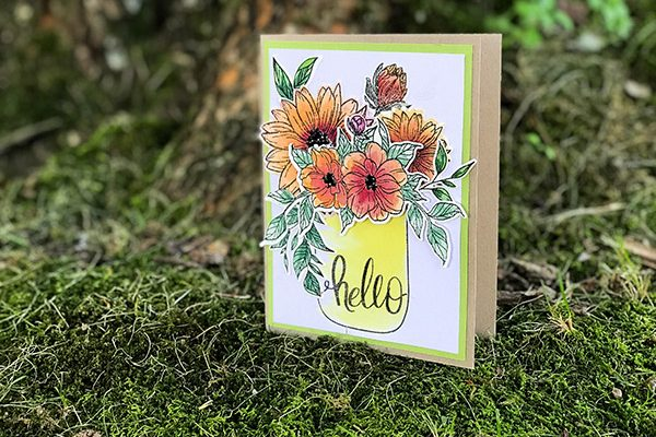 Whimsical Wildflowers by Gina K Designs