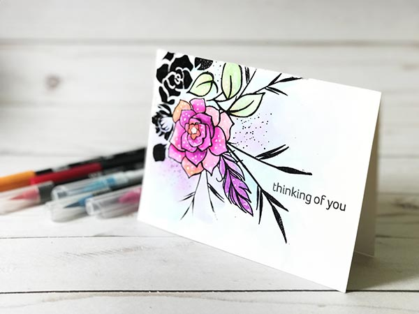 Watercolor Marker Mojo