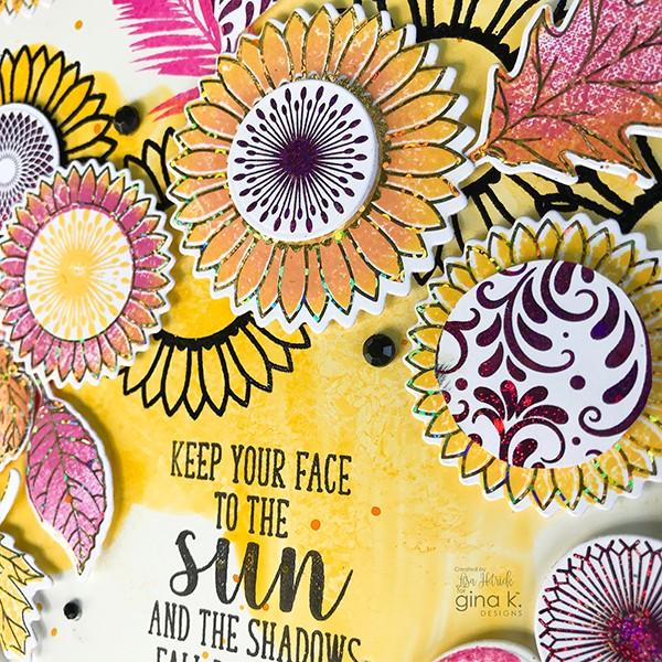 ThermoWeb Foil Detail Flowers