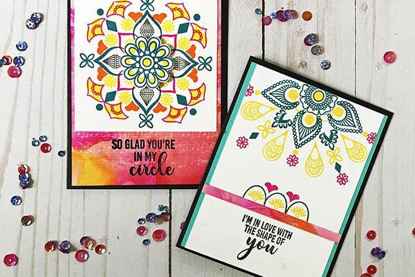 Shape of You Mandala Maker Card