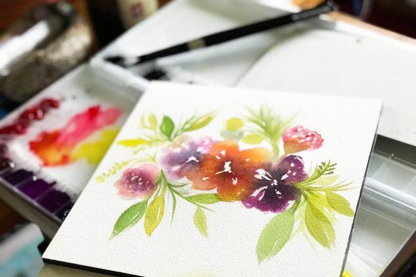 Watercolor Wildflower Florals