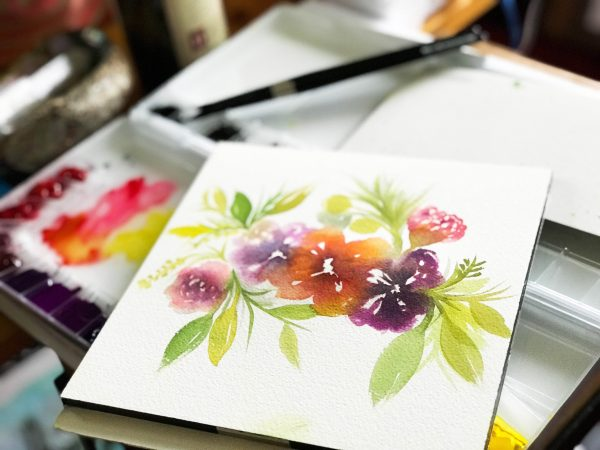 Watercolor Wildflower Florals
