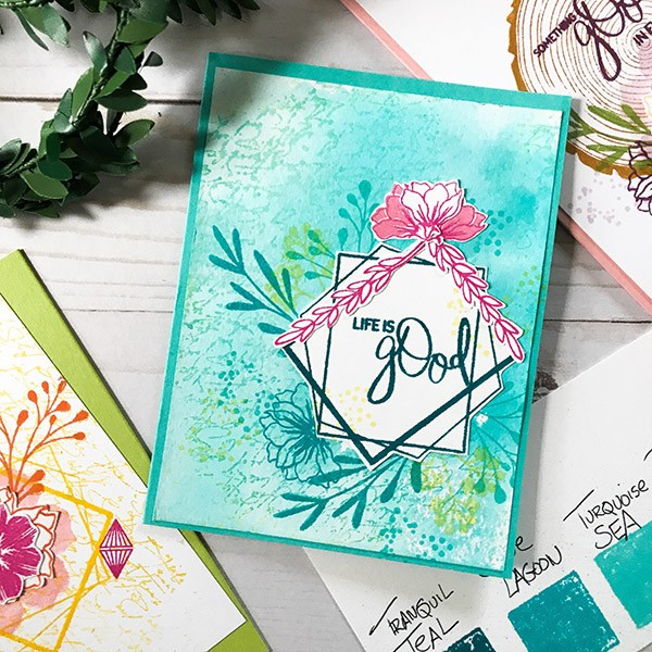 Life is Good Card Design