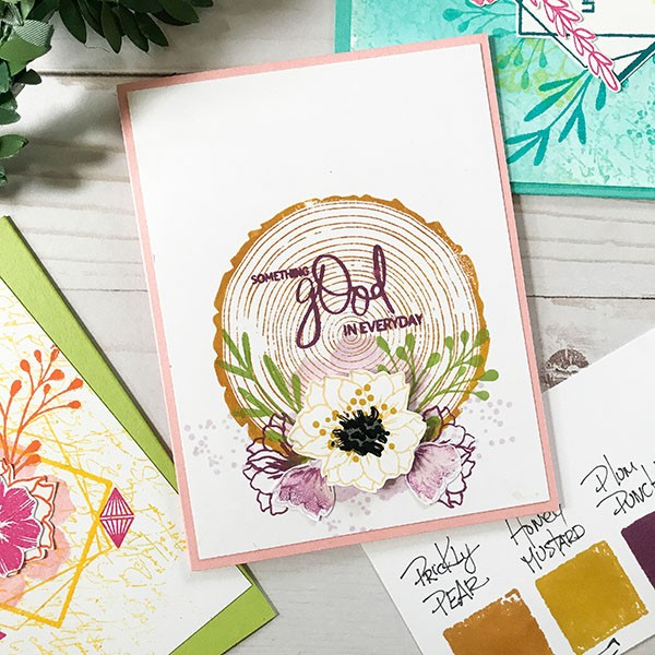 Layering Complementary Colors for Simple Card Design