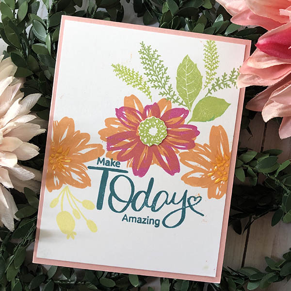 Make Today Amazing Card Design