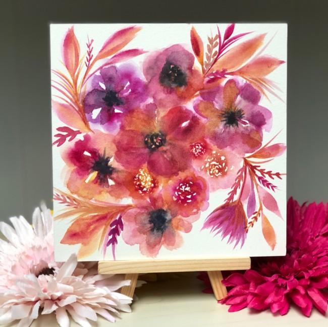 Floral Easel Blooms