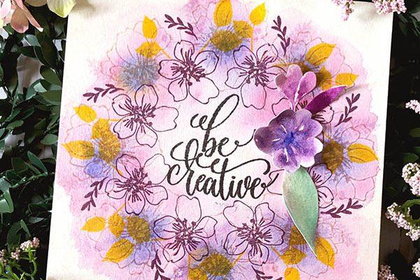 Be Creative Wall Art