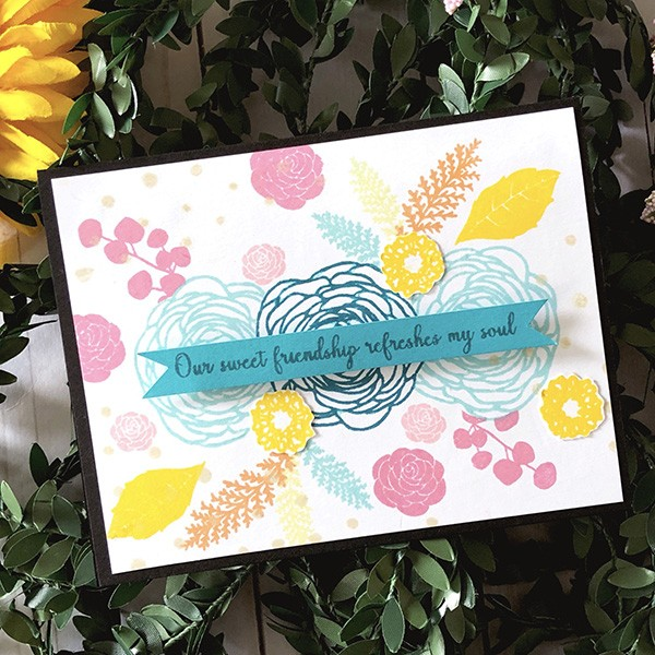 Stamping Floral Bouquets