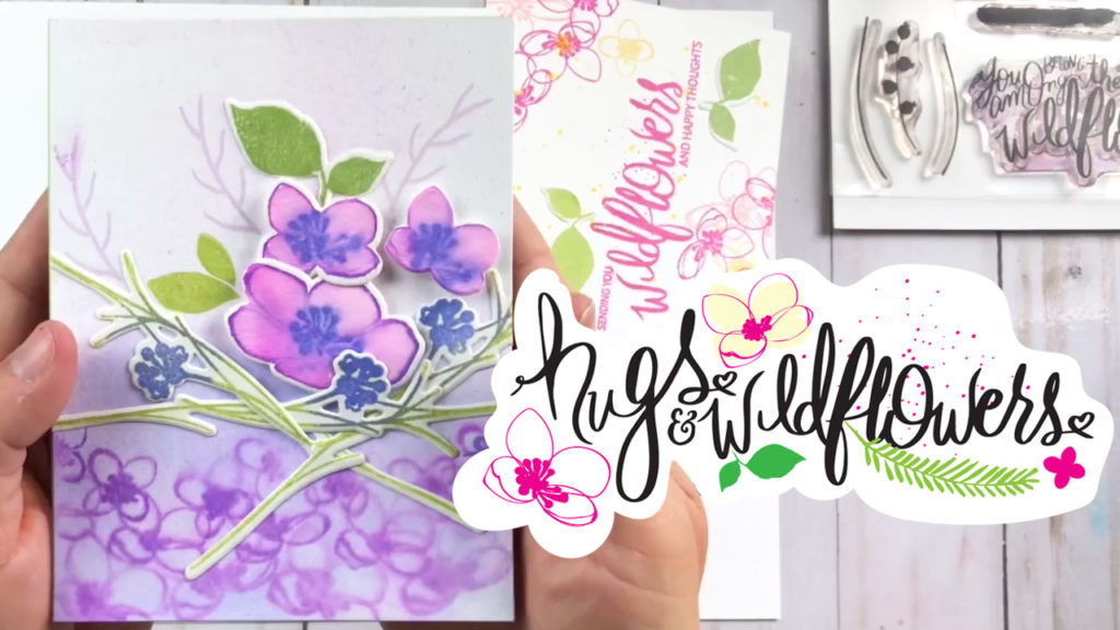 Hugs and Wildflowers Stamp Set