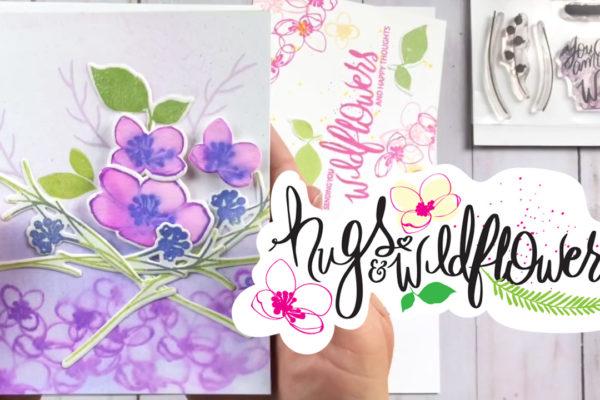 Hugs and Wildflowers Stamp Set