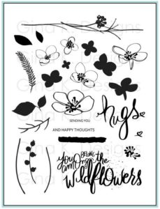 Hugs and Wildflowers Stamp Set with Gina K Designs