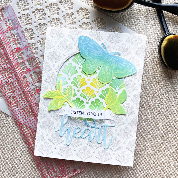 Trifecta Blog Hop Card Project
