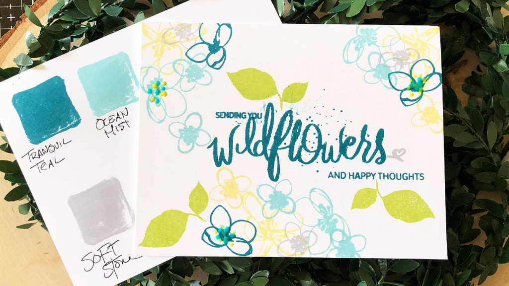 Sending Wildflowers Card