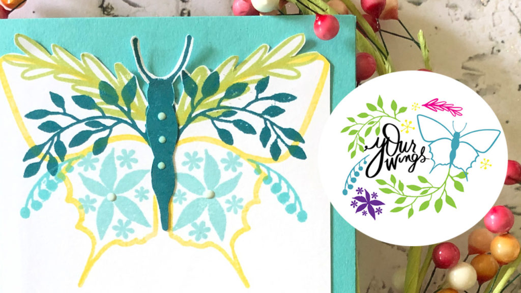 Your Wings Stamp Set with Gina K Designs