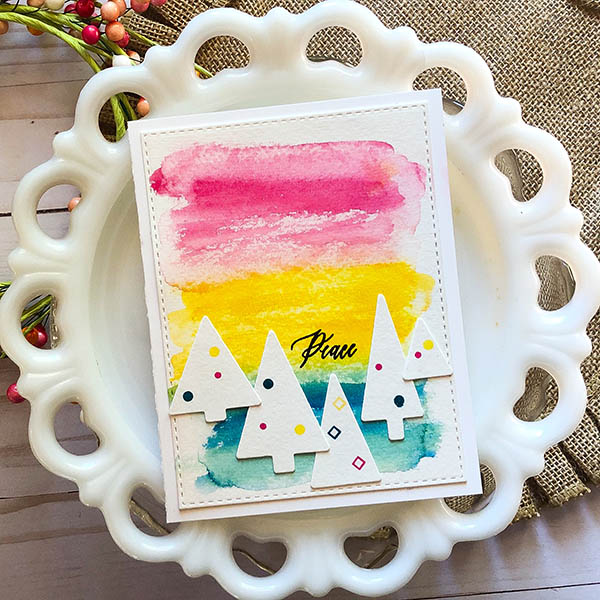 Peace Watercolor Card