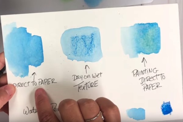Watercolor Pencil Tutorial 3 ways