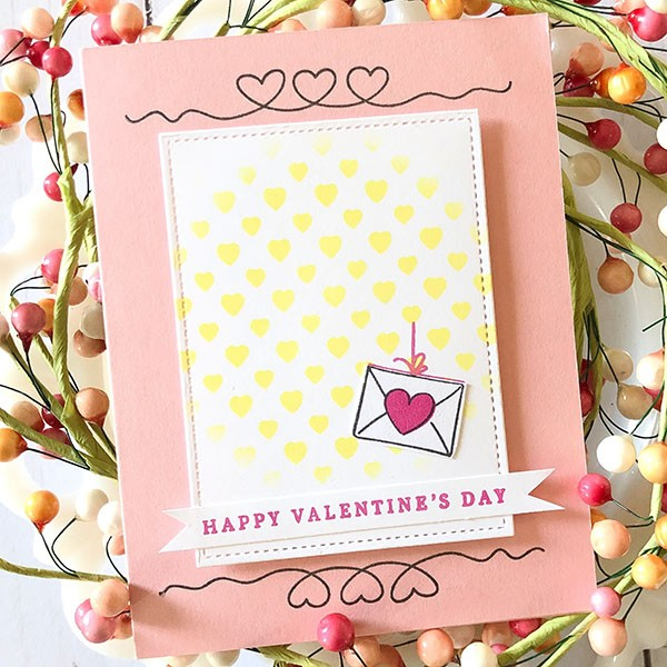 Valentine Card Sample using Gina K Designs