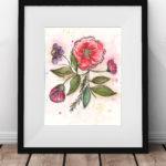 Free Art Print Bloom and Flow