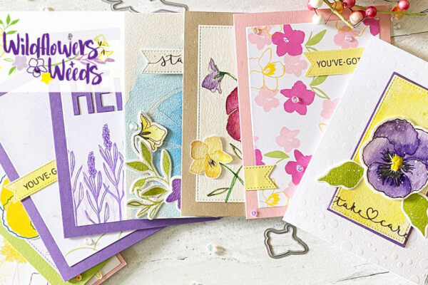 card inspiration using the wildflowers and weeds stamp set
