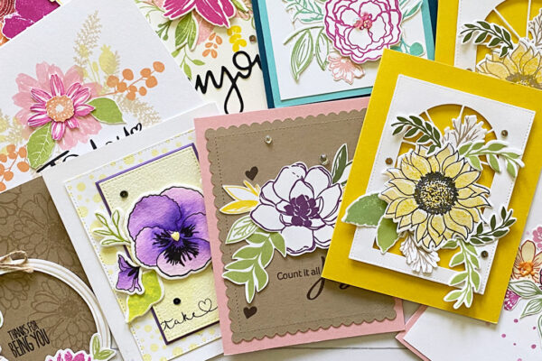 Cards with Florals