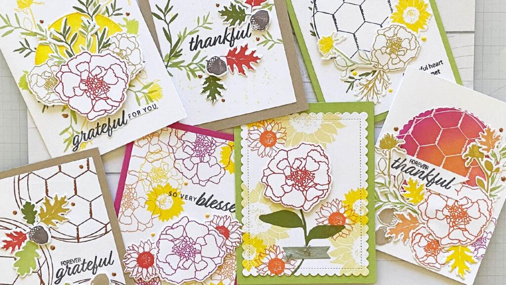 Forever Stamp set with Gina K Designs